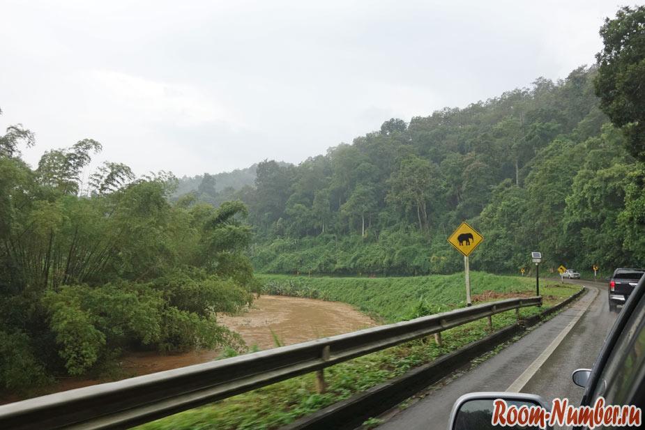 Север Таиланда. Наш маршрут поездки на авто по самым интересным местам