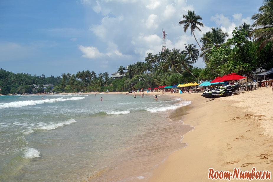 Мирисса, Шри Ланка. Один из лучших пляжей на острове