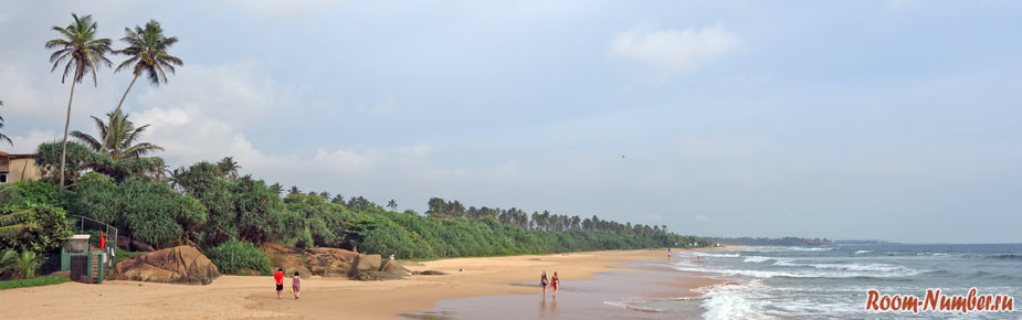 Отели на дальних пляжах южной Шри Ланки