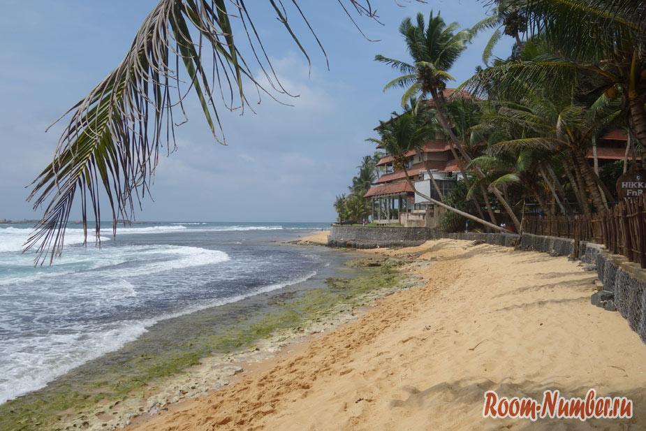 Пляж Хиккадува Шри Ланка