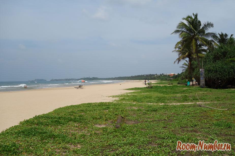 Пляжи Шри Ланки с отелями и точками на карте [15 лучших]
