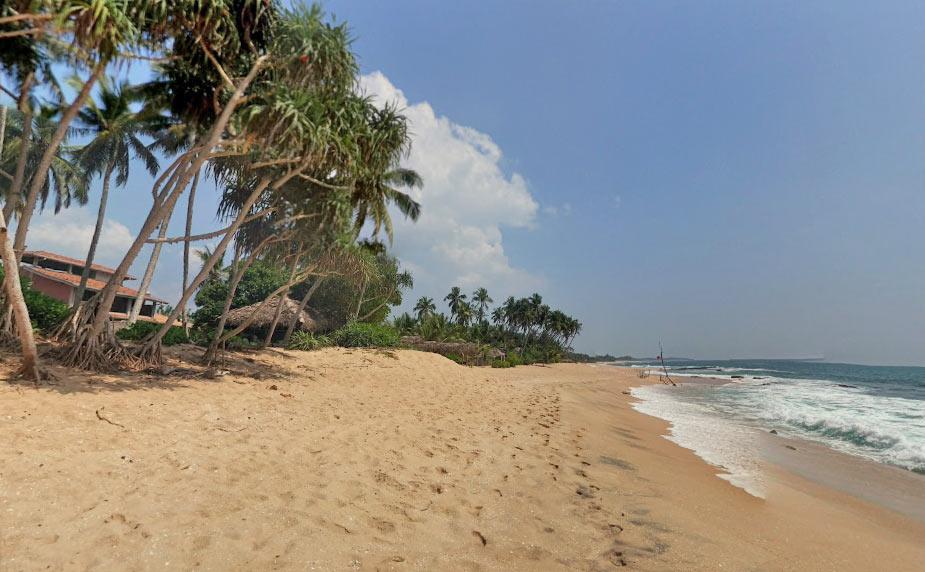 Фото пляжа Тангалле на Шри Ланке