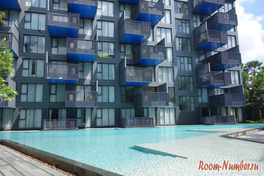 The Deck condo Patong. Наша квартира на Пхукете