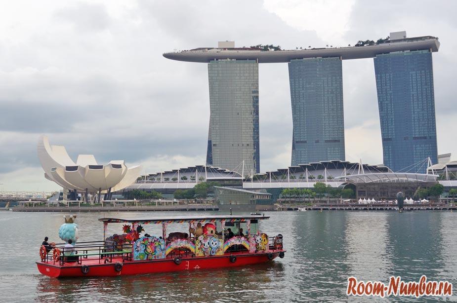 Прогулка по реке в Сингапуре (Singapore River Cruise)
