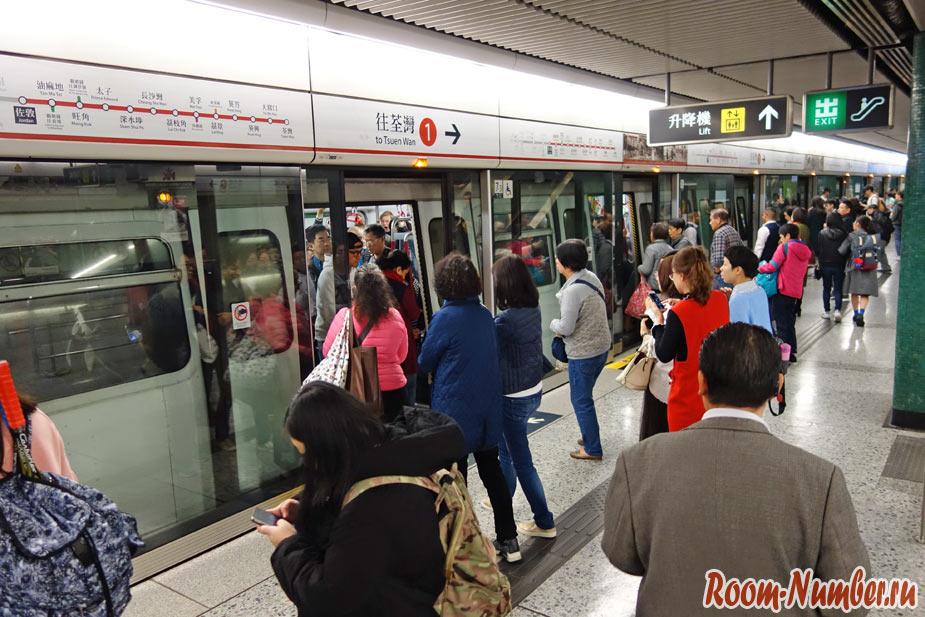 Метро Гонконга. Как пользоваться и схема линий