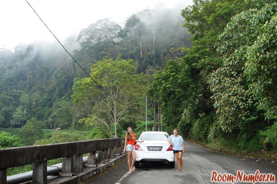 Смотровая площадка на Лангкави на самой высокой горе Gunung Raya