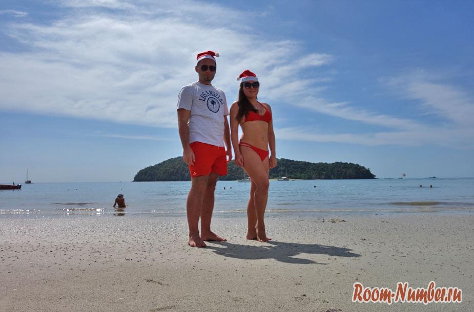 Новый год на Лангкави