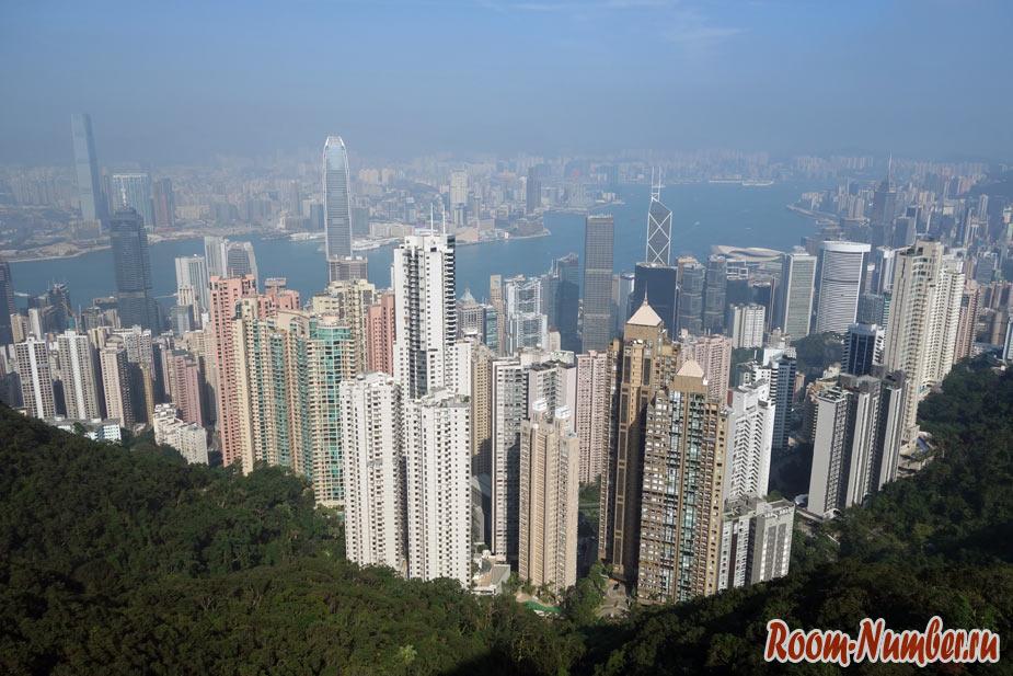 Пик Виктория в Гонконге и 4 способа добраться до вершины