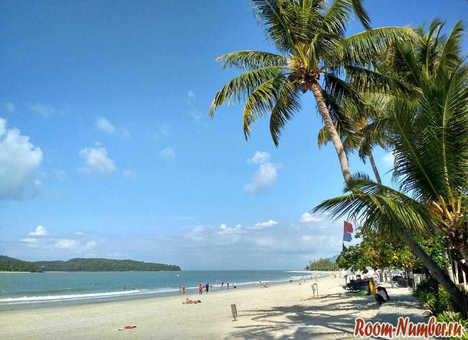 Остров ЛАнгкави первая точка маршрута по Малайзии