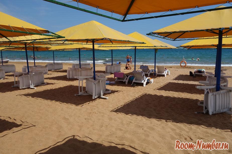 Лучший пляж в Феодосии: Золотой песок или «Пляж 117″