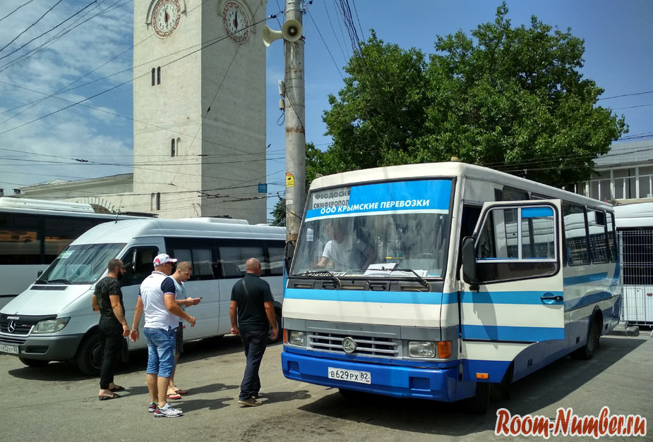 Как добраться в Феодосию из аэропорта Симферополя