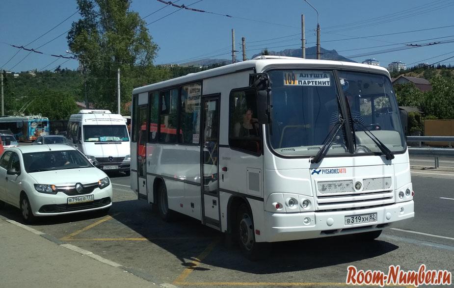 Как добраться в Партенит из аэропорта Симферополя и из Алушты