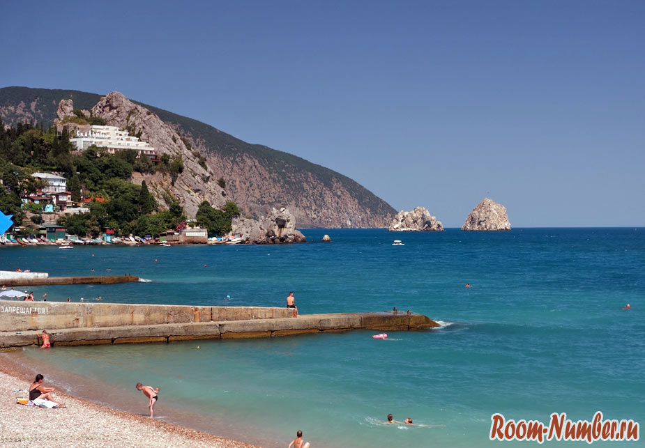 Гурзуф, Крым 2020. Отели, фото пляжа и отзывы об отдыхе