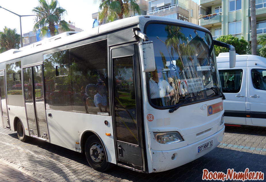 Маршруты автобусов в Алании. Как перемещаться по городу и между пляжами