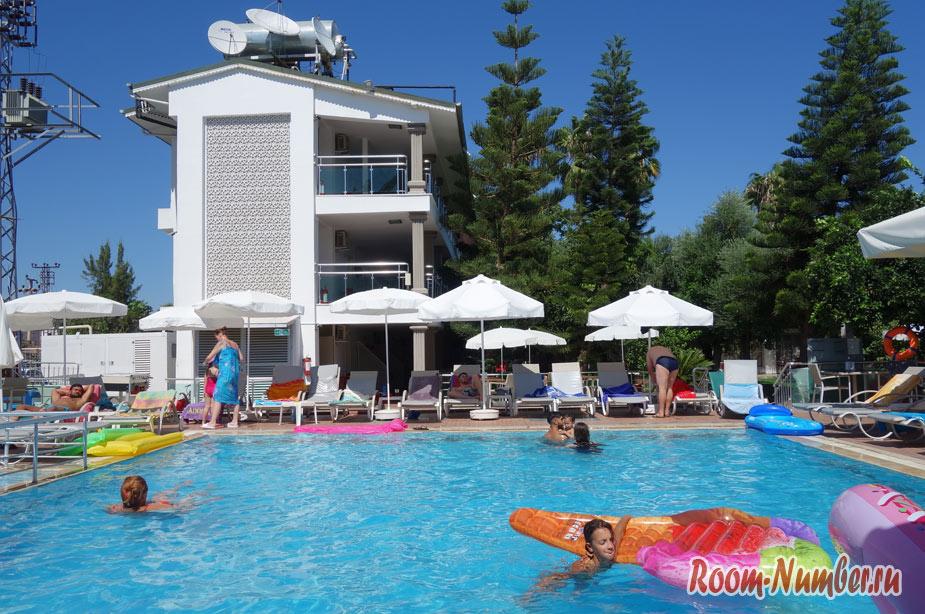 Дешевое «всё включено» в Турции. Наш отель Altınkum Park Hotel 3* в Сиде