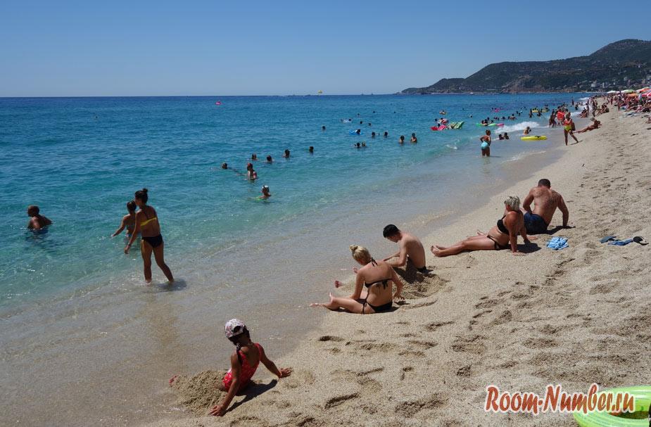 Пляж Клеопатры, Аланья. Самый лучший и красивый в Алании