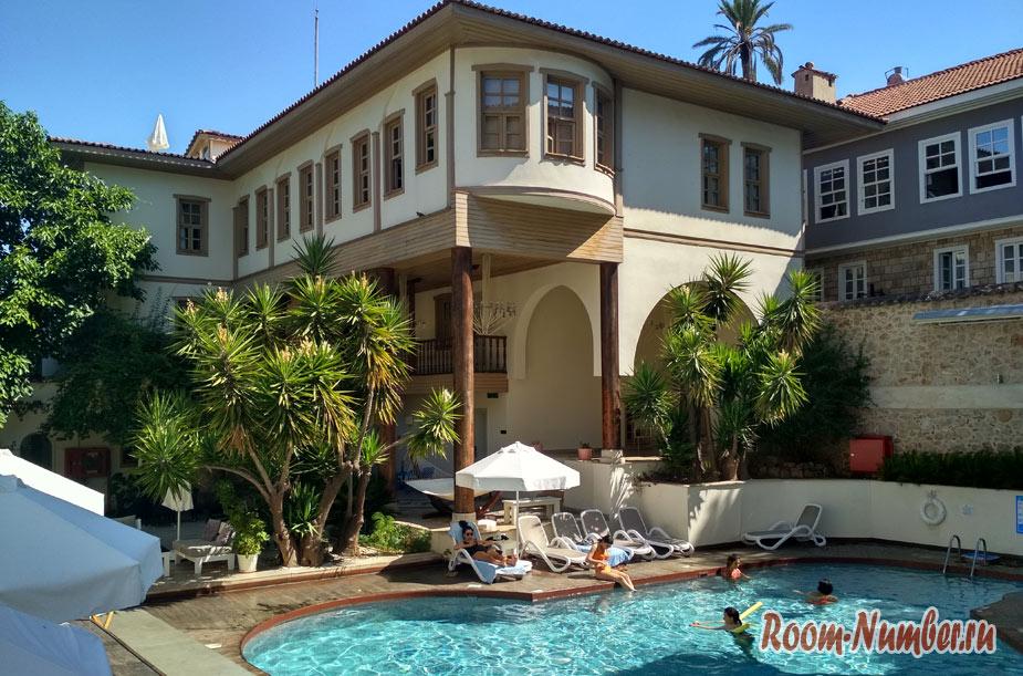 Puding Marina Residence — наш отель в Анталье в старом городе