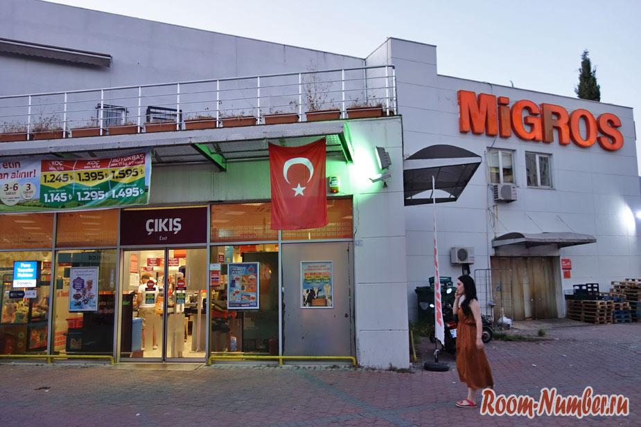 Магазины в Аланье. Где купить продукты, самый вкусный хлеб и пахлава