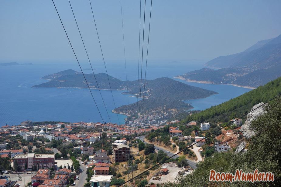 Каш, Турция. Европейский курортный городок с греческим акцентом