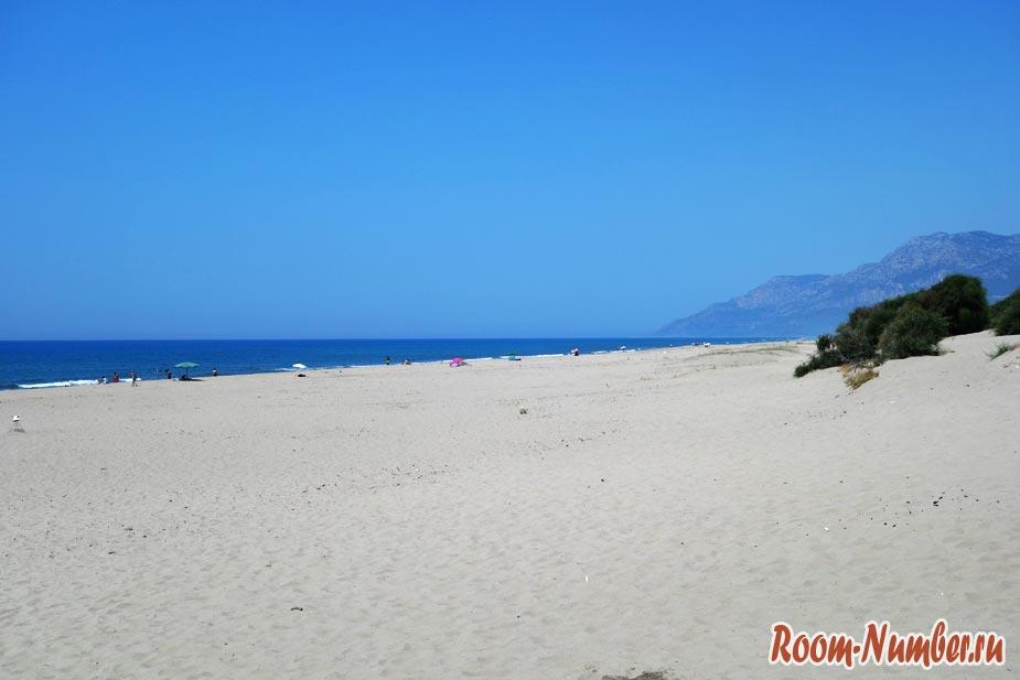 Пляж Патара, Турция. Безлюдные пляжи существуют!