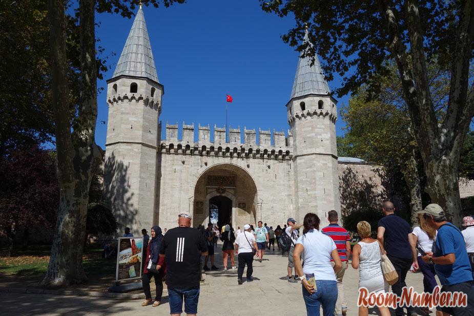 Дворец Топкапы в Стамбуле, где снимали сериал «Великолепный век»