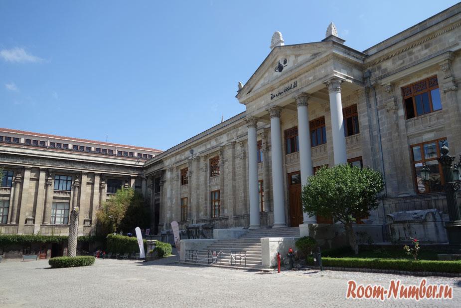 Археологический музей в Стамбуле: скромность и ремонт