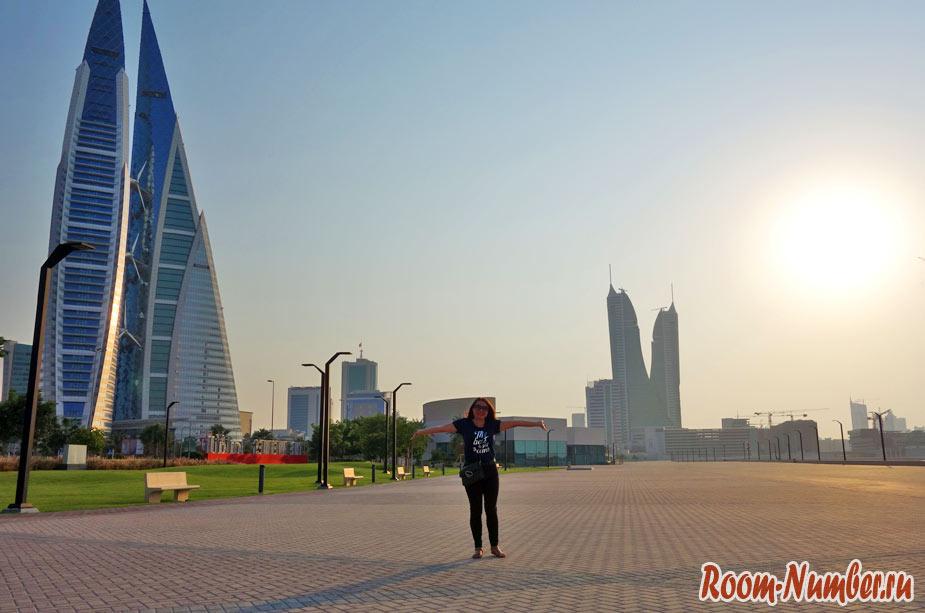 Один день в Бахрейне. Город Манама и башни-близнецы