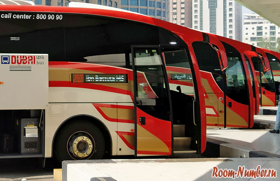 Автобус Дубай Абу Даби E101