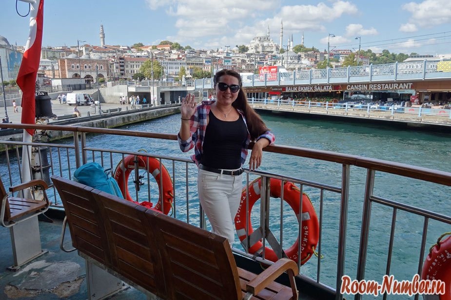 Как покататься на пароме в Стамбуле