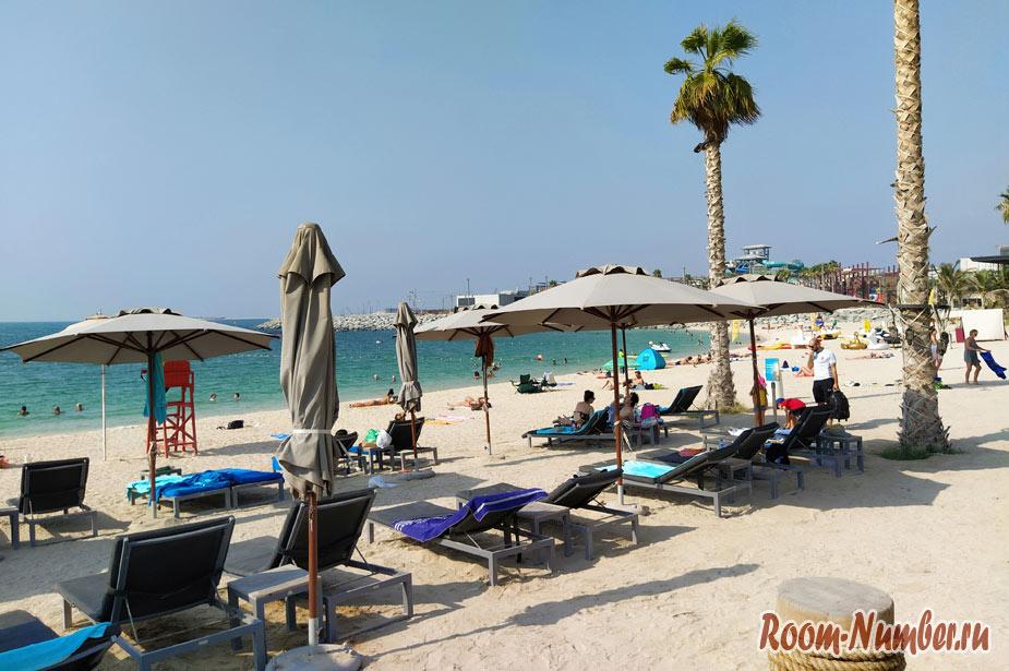 Пляж Ла Мер в Дубае (La Mer Beach). Один из лучших пляжей Дубая
