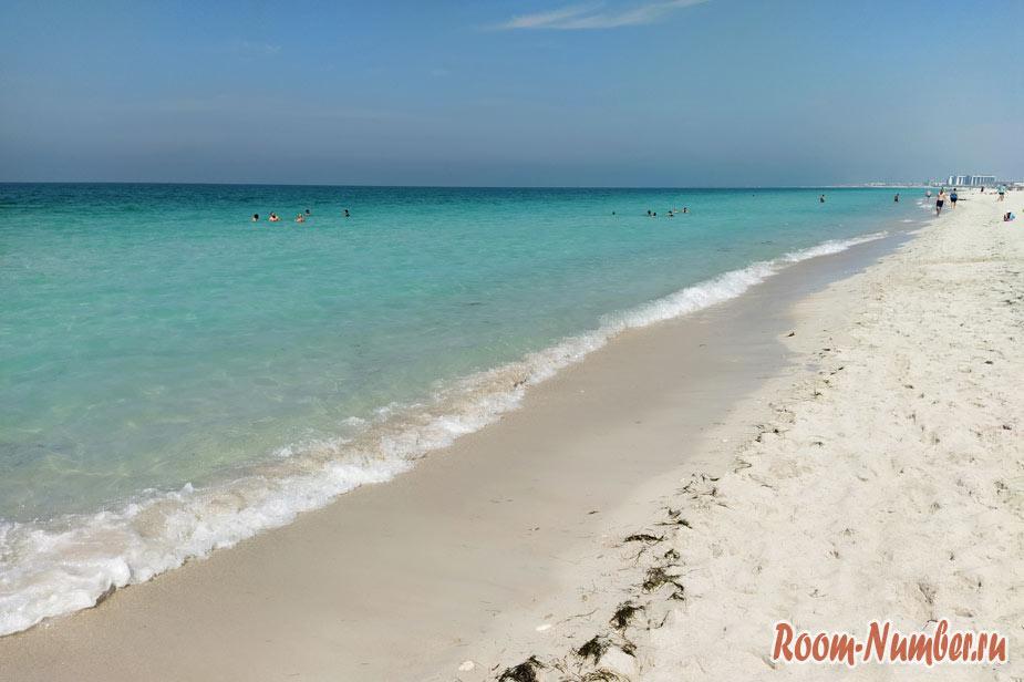 Остров Саадият. Лучший пляж в Абу Даби