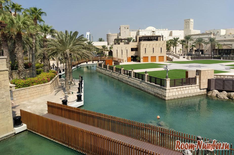 Мадинат Джумейра или Дубайская Венеция. Секретное место для фото с Burj Al Arab