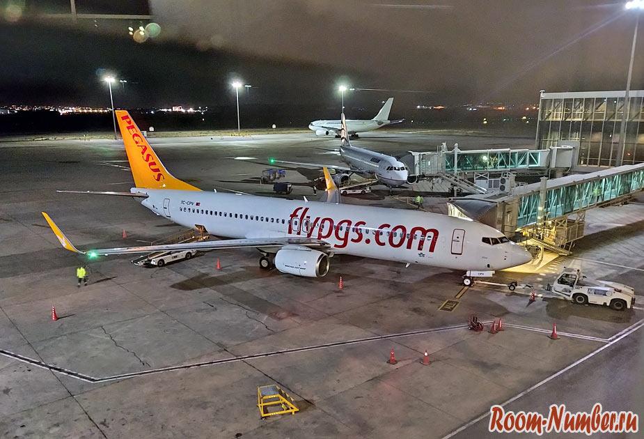 Авиакомпания Pegasus: отзывы о перелете в Турцию из Иордании