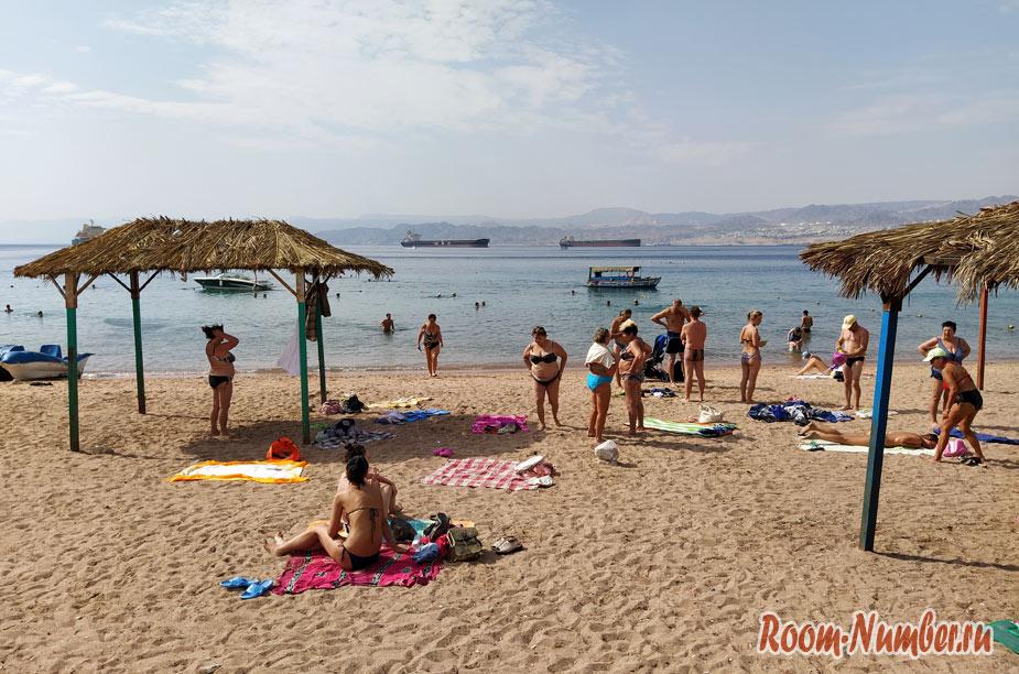 Пляжи Акабы. Как выглядят пляжи в Иордании