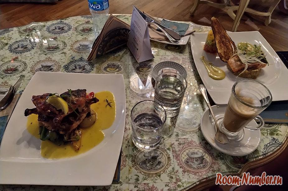Цены на еду в ОАЭ. Питание в кафе и ресторанах (Дубай, Абу-Даби)