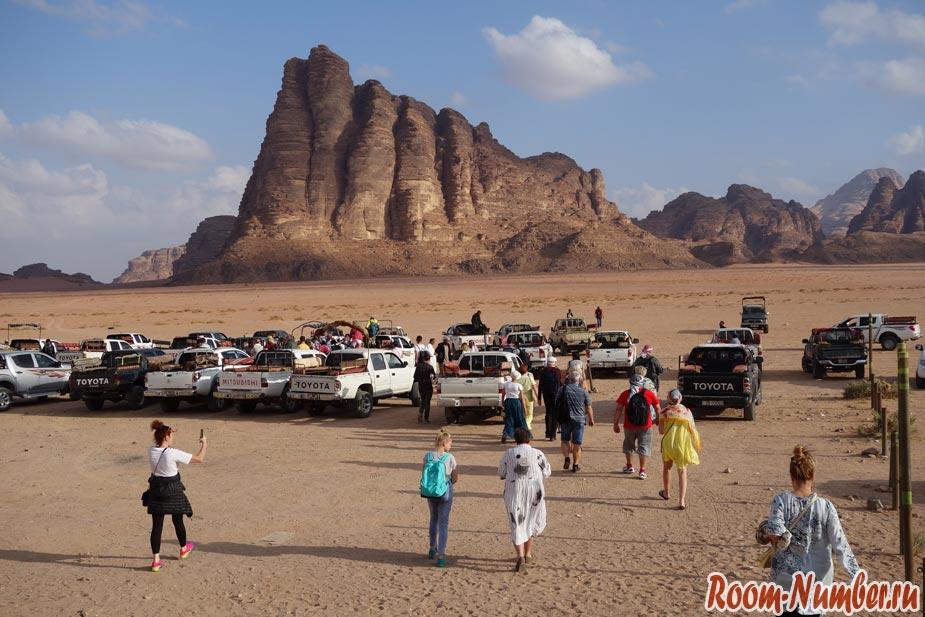 Пустыня Вади Рам (Wadi Rum) в Иордании: 30 фото и наши отзывы