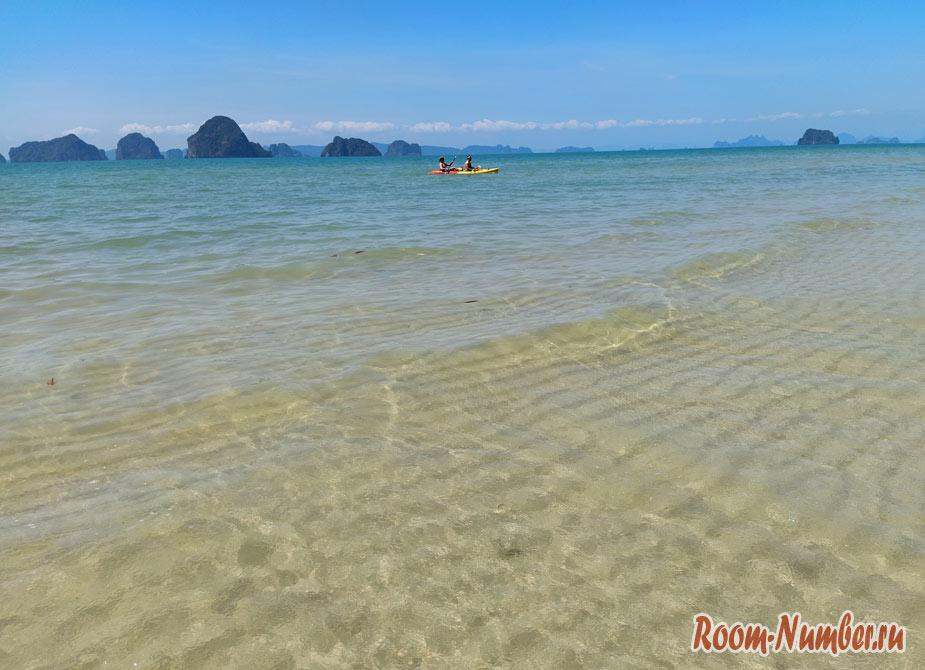 Пляж Туб Каек – один из лучших в Краби