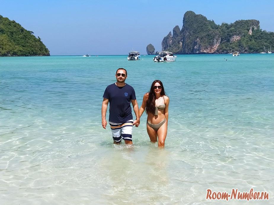 Пляж Loh Dalum на Пхи Пхи – вторая Майя бэй, только без людей
