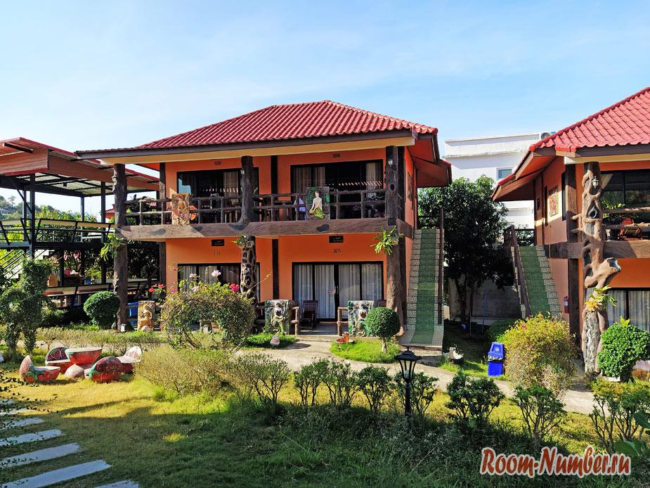 Chomview Resort — наш новый отель 3 звезды на Ко Ланте, пляж Лонг бич
