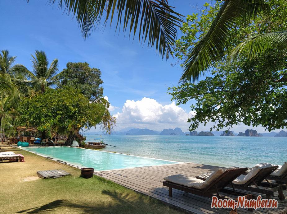 Лучший пляж на острове Яо Ной у отеля Koyao Island Resort