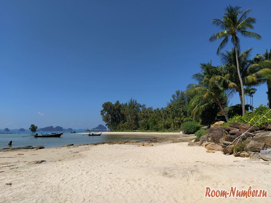Пляж Клонг Муанг в Краби – красивая альтернатива Ао Нангу