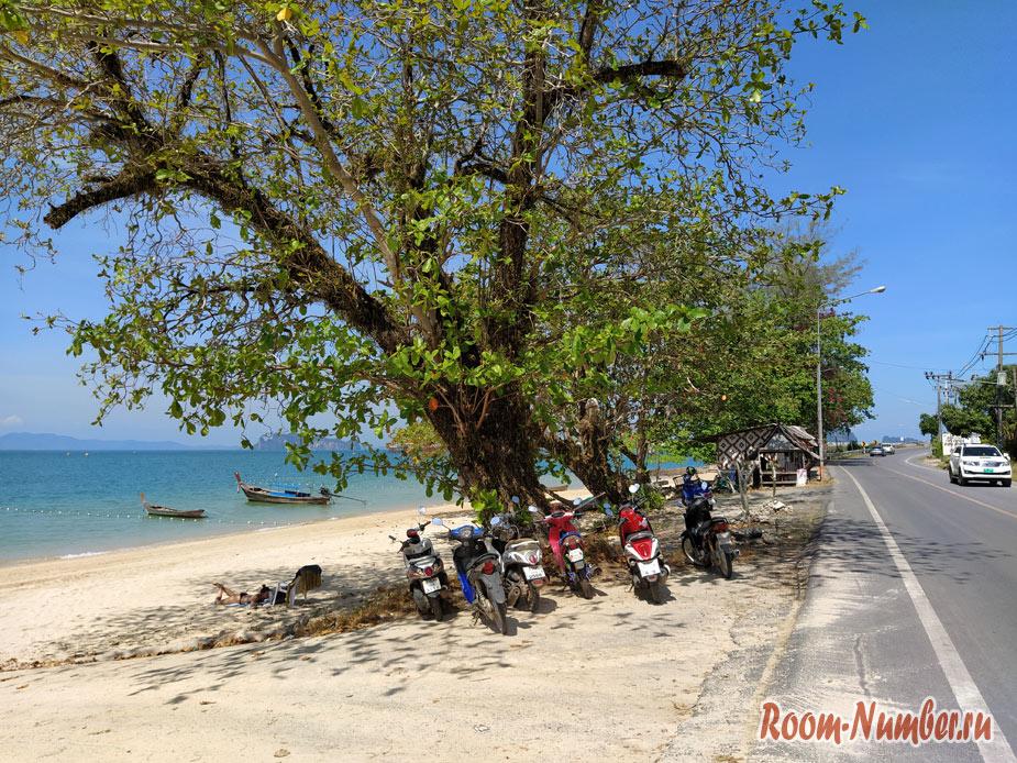 Пляж Koh Kwang в Краби