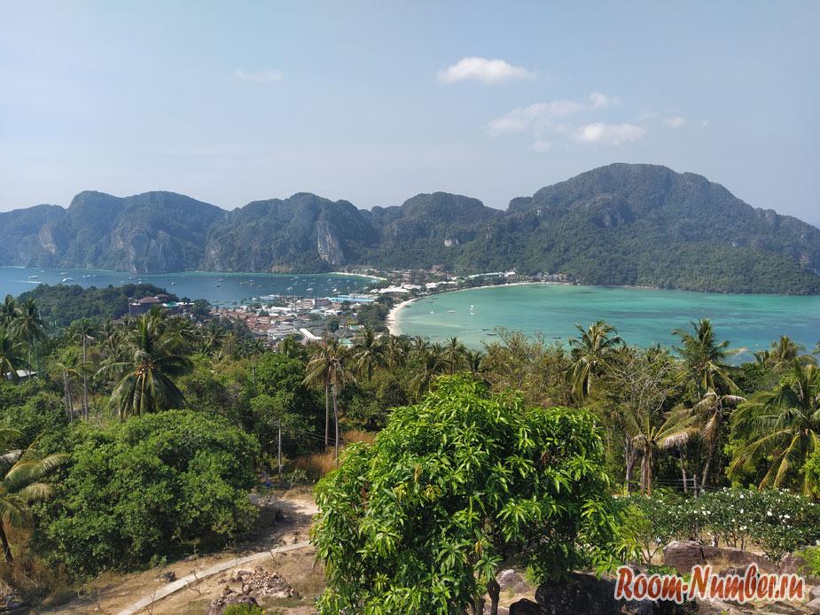 Смотровая площадка на Пхи Пхи. Самый красивый вьюпоинт в Таиланде с видом на море и острова