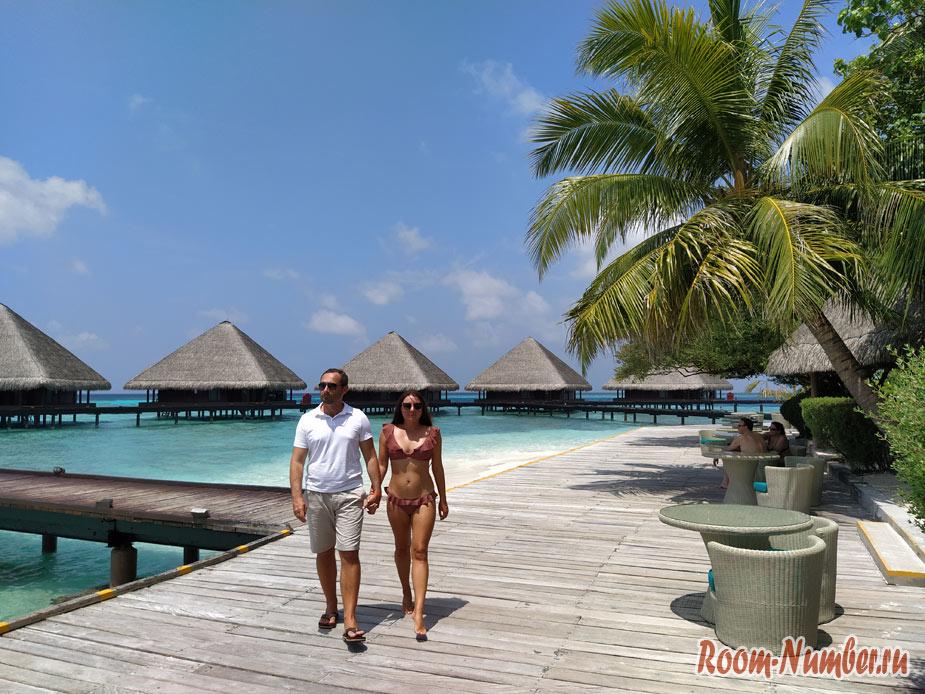 Adaaran Club Rannalhi. Остров резорт на Мальдивах с домиками на воде
