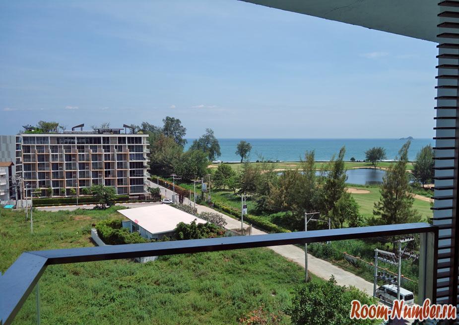 Квартира с видом на море в Хуа Хине. Кондо Baan View Viman на пляже Као Такиаб