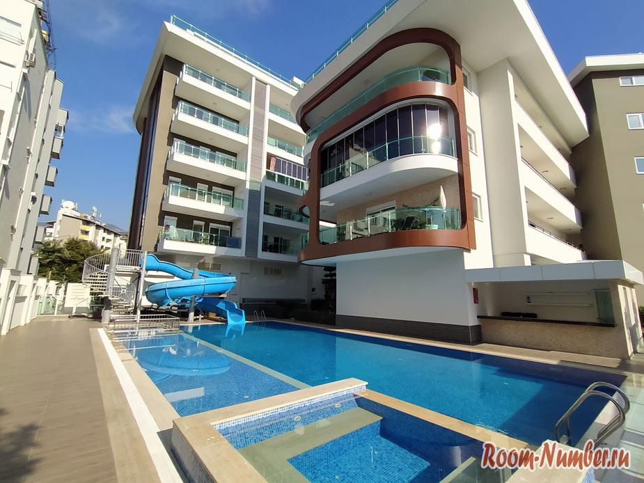 Наша квартира в Алании в комплексе Best Home 20 на пляже Клеопатра