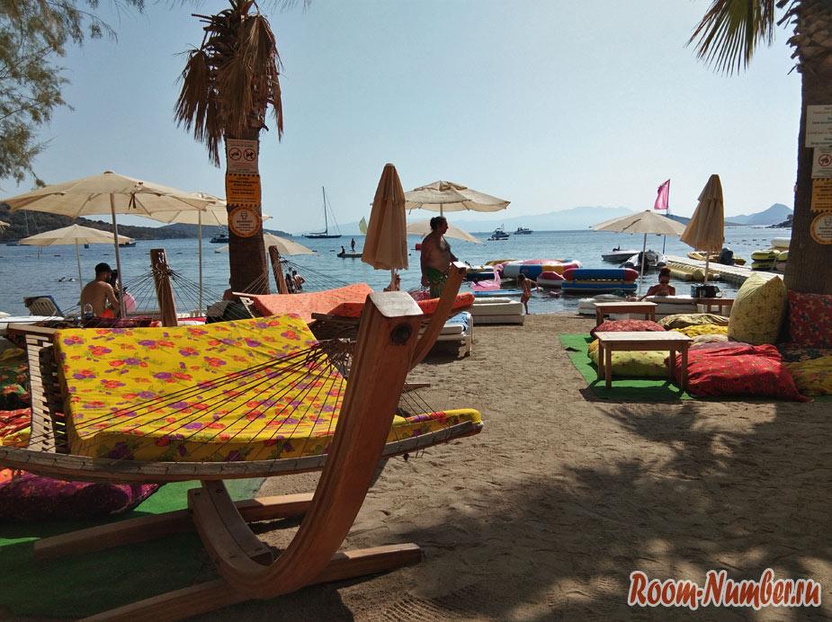 Пляж Битез — лучший пляж в Бодруме