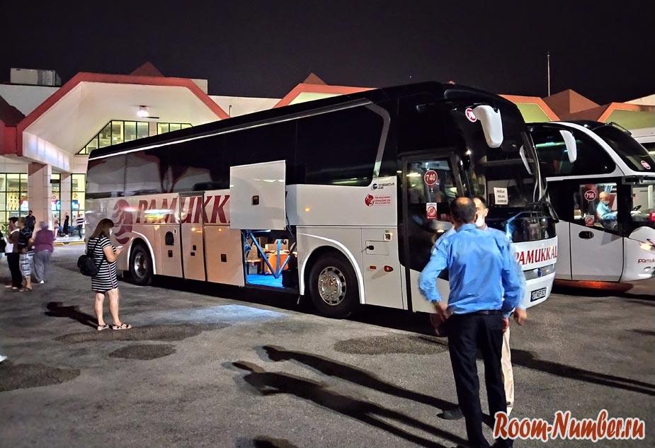 Как добраться из Анталии в Бодрум на автобусе