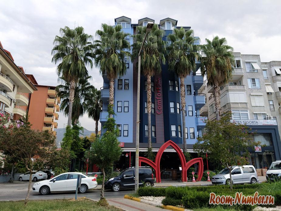 Хорошее жилье в Аланье недорого. Апарт-отель Comfort suites