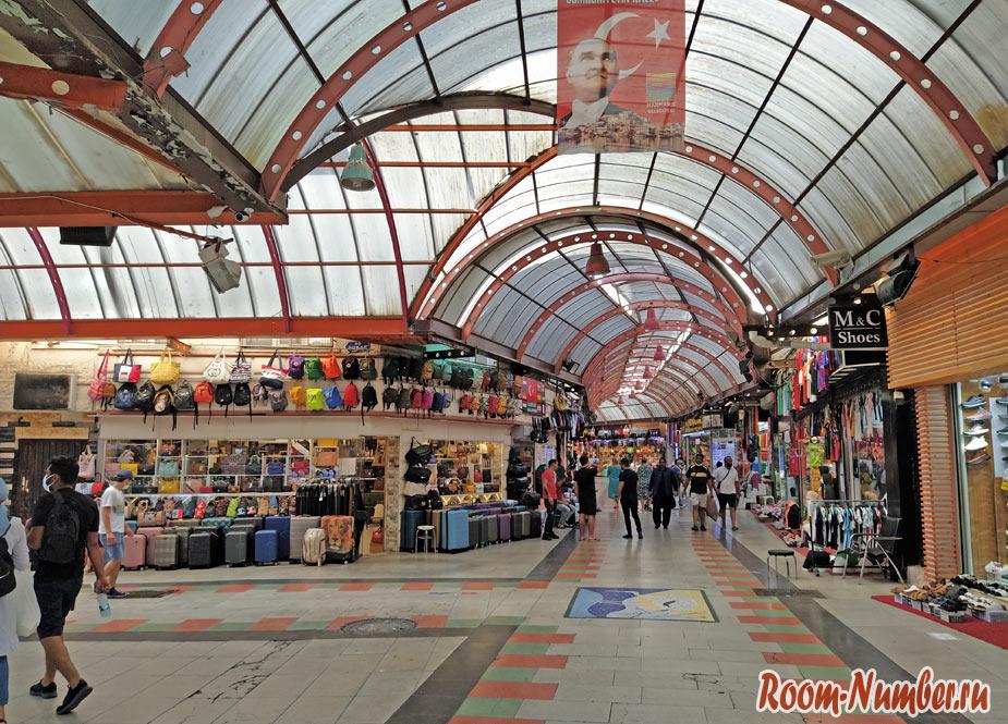 Гранд Базар Мармарис — большой рынок в центре города